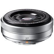 Fujifilm Fujinon XF 27 mm f / 2,8 strieborná