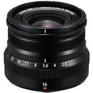 Fujifilm Fujinon XF 16 mm f/2,8 R WR čierny - Objektív