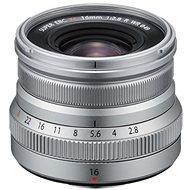 Fujifilm Fujinon XF 16 mm f/2,8 R WR strieborný - Objektív