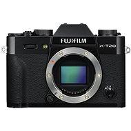 Fujifilm X-T20 telo čierny - Digitálny fotoaparát