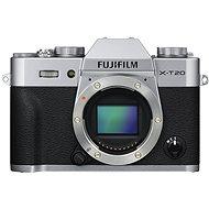 Fujifilm X-T20 telo strieborný - Digitálny fotoaparát