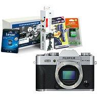 Fujifilm X-T20 telo strieborný + Fujifilm Foto Starter Kit