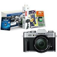 Fujifilm X-T20 strieborný + XC16–50 mm f/3,5 – 5,6 OIS II + Fujifilm Foto Starter Kit