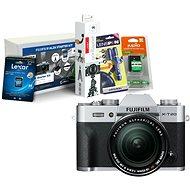 Fujifilm X-T20 strieborný + XF 18–55 mm f/2,8–4 R LM OIS + Fujifilm Foto Starter Kit