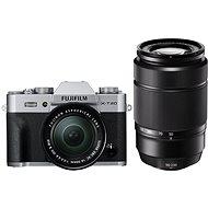 Fujifilm X-T20 strieborný + XC16–50 mm f/3,5–5,6 OIS II + XC50–230 mm f/4,5–6,7 OIS II - Digitálny fotoaparát