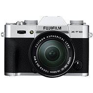 Fujifilm X-T10 Silver + objektív XC 16–50 mm - Digitálny fotoaparát
