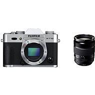 Fujifilm X-T10 Silver + objektív XF 18–135 mm - Digitálny fotoaparát