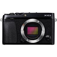 Fujifilm X-E3 telo čierny - Digitálny fotoaparát