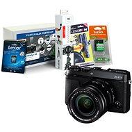 Fujifilm X-E3 čierny + XF 18–55 mm + Fujifilm Foto Starter Kit