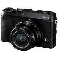 Fujifilm X-E3 čierny + XF 23 mm - Digitálny fotoaparát