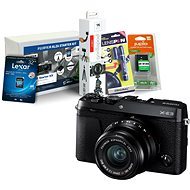 Fujifilm X-E3 čierny + XF 23 mm + Fujifilm Foto Starter Kit