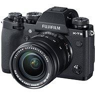 Fujifilm X-T3 čierny + XF 18-55 mm R LM OIS - Digitálny fotoaparát
