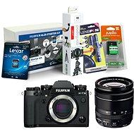 Fujifilm X-T3 čierny + XF 18–55 mm R LM OIS + Fujifilm Foto Starter Kit