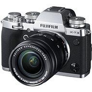Fujifilm X-T3 strieborný + XF 18-55 mm R LM OIS - Digitálny fotoaparát