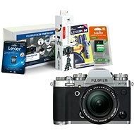 Fujifilm X-T3 strieborný + XF 18–55 mm R LM OIS + Fujifilm Foto Starter Kit