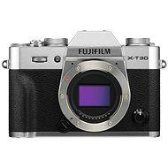 Fujifilm X-T30 telo strieborný - Digitálny fotoaparát
