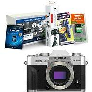Fujifilm X-T30 telo strieborný + Fujifilm Foto Starter Kit