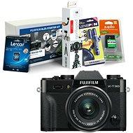 Fujifilm X-T30 čierny + XC 15–45 mm + Fujifilm Foto Starter Kit