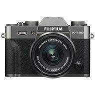 Fujifilm X-T30 sivý + XC 15 – 45 mm - Digitálny fotoaparát