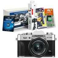 Fujifilm X-T30 strieborný + XC 15–45 mm + Fujifilm Foto Starter Kit
