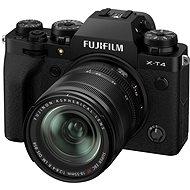 Fujifilm X-T4 + 18–55 mm čierny - Digitálny fotoaparát