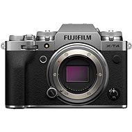 Fujifilm X-T4 telo strieborný - Digitálny fotoaparát