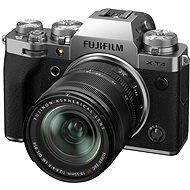 Fujifilm X-T4 + 18–55 mm strieborný - Digitálny fotoaparát