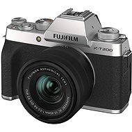 Fujifilm X-T200 + 15 – 45 mm strieborný - Digitálny fotoaparát