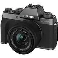 Fujifilm X-T200 + 15 – 45 mm tmavo strieborný - Digitálny fotoaparát