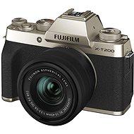 Fujifilm X-T200 + 15 – 45 mm zlatý - Digitálny fotoaparát