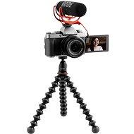 Fujifilm X-T200 + 15–45 mm Vlogger Kit – tmavo strieborný - Digitálny fotoaparát