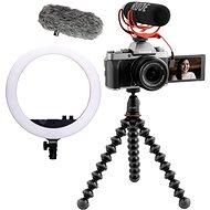 Fujifilm X-T200 + 15–45 mm Vlogger Kit Premium – tmavo strieborný - Digitálny fotoaparát