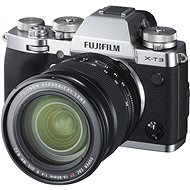Fujifilm X-T3 + 16-80 mm stříbrný - Digitálny fotoaparát