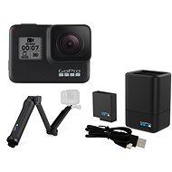 GOPRO HERO7 Black + GOPRO 3-Way Grip/Arm/Tripod + GOPRO Dual Battery Charger + Battery HERO - Digitálna kamera