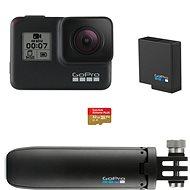 GOPRO HERO7 Black + SD karta + baterie + Shorty - Outdoorová kamera