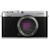 Fujifilm X-E4 telo strieborný - Digitálny fotoaparát