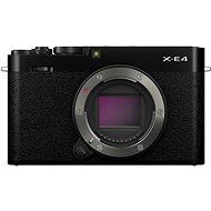 Fujifilm X-E4 telo čierny - Digitálny fotoaparát