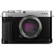 Fujifilm X-E4 telo + Accessories Kit strieborný - Digitálny fotoaparát