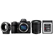 Nikon Z6 + 24–70 mm+ FTZ adaptér + 64GB XQD karta - Digitálny fotoaparát