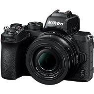 Nikon Z50 + 16–50 mm + FTZ adaptér