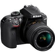 Nikon D3400 čierny + 18–55 mm AF-P VR - Digitálny fotoaparát