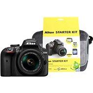 Nikon D3400 čierny + 18–55 mm AF-P VR + Nikon Starter Kit - Digitálny fotoaparát