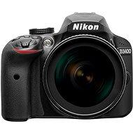 Nikon D3400 čierny + 18-105mm VR - Digitálny fotoaparát