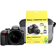 Nikon D3400 čierny + 18-105mm VR + Nikon Starter Kit - Digitálny fotoaparát