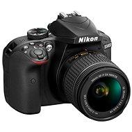 Nikon D3400 čierny + 18 – 55 mm VR + 70 – 300 VR + taška + 16 GB karta - Digitálny fotoaparát