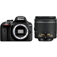 Nikon D3400 čierny + 18-55mm AF-P - Digitálny fotoaparát