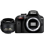 Nikon D3400 čierny + 35mm DX - Digitálny fotoaparát