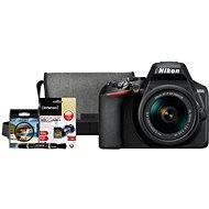 Nikon D3500 čierny + 18–55 mm VR + Nikon Starter Kit 55 mm, 32 GB - Digitálny fotoaparát