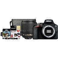 Nikon D3500 čierny + 18–105mm VR + Nikon Starter Kit 67mm – 32 GB - Digitálny fotoaparát