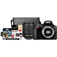 Nikon D3500 čierny + 18–140 mm VR + Nikon Starter Kit 67 mm, 32 GB - Digitálny fotoaparát